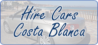 Hire Cars Costa Blanca